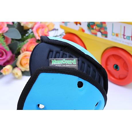 Mũ Bảo Vệ Đầu Cho Bé Mumguard Hình Bọ Cánh Cam - Xanh 6