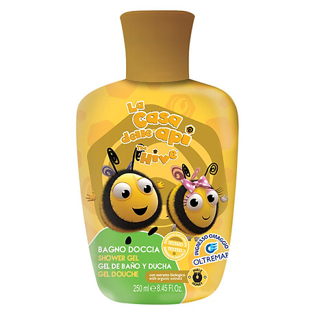 Gel Tắm Trẻ Em Chiết Xuất Mật Ong Sodico The Hive (250ml) - SODI1324 1