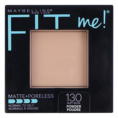 Phấn Phủ Mịn Nhẹ Kiềm Dầu Fit Me Matte Poreless Powder Maybelline New York 8.5g 1