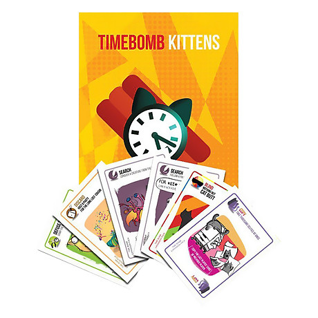 Mèo Mở Rộng 4 - Timebome Expansion BoardgameVN 1