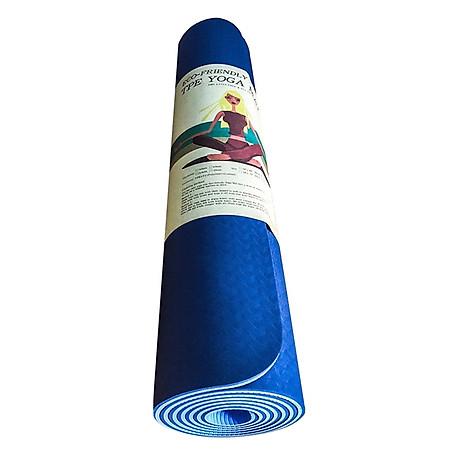 Thảm Tập Gym Và Yoga 2 Lớp TPE Eco (6mm) 1