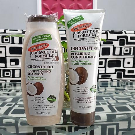 Dầu gội và dầu xã dưỡng ẩm, phục hồi và kích thích mọc tóc từ dừa Palmer s Coconut Oil Formula 2