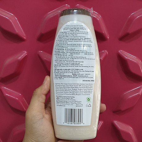 Dầu gội và dầu xã dưỡng ẩm, phục hồi và kích thích mọc tóc từ dừa Palmer s Coconut Oil Formula 3