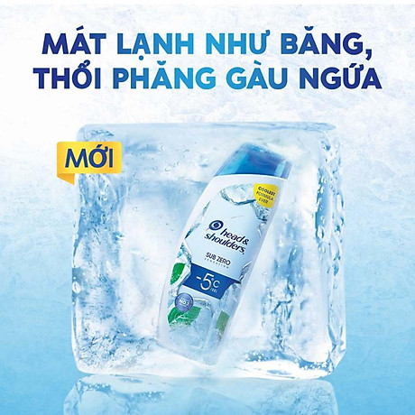 Combo 2 Dầu Gội Head & Shoulders Sub-Zero Băng Lạnh 0 Độ 800ml - Mát lạnh sạch gàu 5