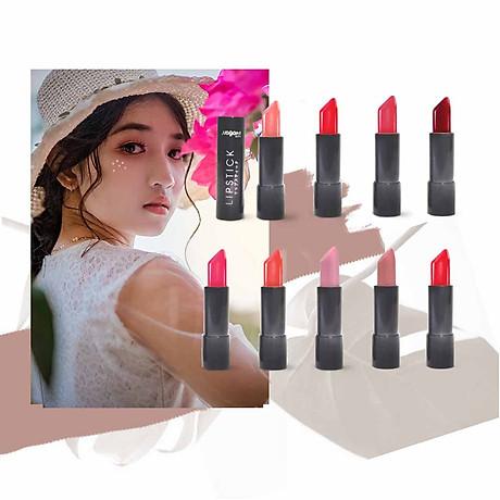 Son Lì Collagen Nagano Japan 2,9g - Lipstick Collagen Nagano Candy Crush & Peachy Orange 2.9g - Chất son mịn, chứa Collagen giúp dưỡng mềm môi 7