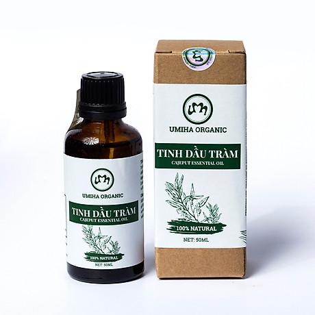 COMBO 3 HỘP TINH DẦU TRÀM HỮU CƠ U MINH HẠ nguyên chất dùng xông tắm ngừa cảm lạnh, trị côn trùng cắn đốt cho Bé, Trẻ sơ sinh và Trẻ nhỏ An toàn cho làn da nhạy cảm của Bé 2