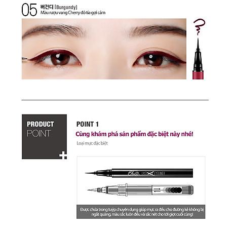 Kẻ mắt nước Bbia Last Pen Eyeliner 0.6g (5 màu) 6