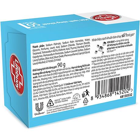 Xà Bông Cục Diệt Khuẩn Lifebuoy Mát Lạnh Sảng Khoái 21126120 (90g) 2