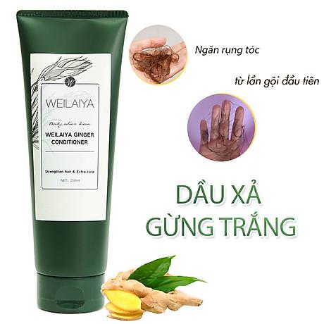 Dầu xả dưỡng tóc Weilaiya chiết xuất tinh chất gừng tươi ngăn ngừa rụng tóc (200ml) - Sản phẩm chính hãng 7