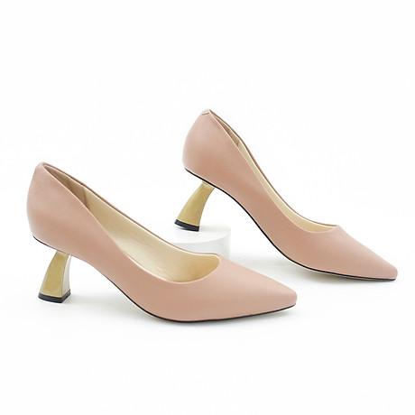 Giày Pixie Mũi Nhọn Gót Xéo 5P P340 6