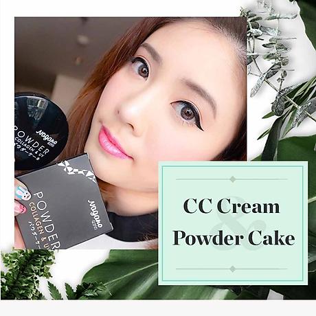 Phấn nền Collagen Nagano 10g - Nagano Powder Cake 10g - Thành phần Collagen và chất chống nắng giúp dưỡng và bảo vệ da hiệu quả 6