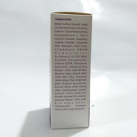 Dầu gội trị gàu, ngứa da đầu và viêm da đầu, giảm triệu chứng bong vảy và ngứa da đầu tiết bã, gàu và lang ben DẦU GỘI NANO HAIR chứa 100% thảo dược - Chai 100ML 6