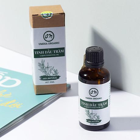 COMBO 3 HỘP TINH DẦU TRÀM HỮU CƠ U MINH HẠ nguyên chất dùng xông tắm ngừa cảm lạnh, trị côn trùng cắn đốt cho Bé, Trẻ sơ sinh và Trẻ nhỏ An toàn cho làn da nhạy cảm của Bé 5