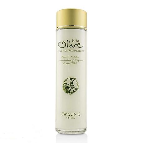 Sữa dưỡng trắng da tinh chất dầu Olive 3W CLINIC Hàn Quốc 150ml 7