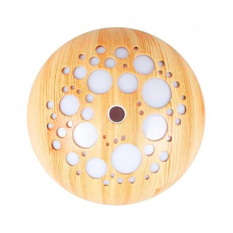 Máy khuếch tán ánh trăng vân gỗ sáng FX2040 + Tinh dầu sả chanh Lorganic(10ml) + Tinh dầu bưởi chùm Lorganic (10ml) Thích hợp xông phòng diện tích 15 - 40m2. 5