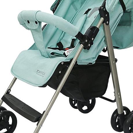 Xe đẩy trẻ em đa năng gọn nhẹ Thời trang cho bé Màu xanh mint 2