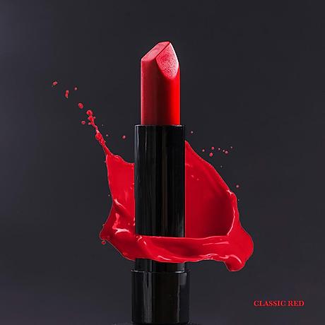 Son Lì Collagen Red Nagano Japan 2,9g - Classic Red Ps I love You Burgundy Wine - Son có chứa Collagen giúp dưỡng mềm môi 2