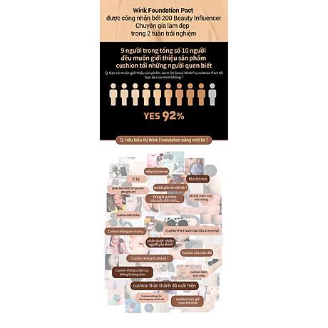 Phấn nước - JAVIN DE SEOUL WINK FOUNDATION PACT 3