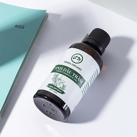 COMBO 3 HỘP TINH DẦU TRÀM HỮU CƠ U MINH HẠ nguyên chất dùng xông tắm ngừa cảm lạnh, trị côn trùng cắn đốt cho Bé, Trẻ sơ sinh và Trẻ nhỏ An toàn cho làn da nhạy cảm của Bé 6
