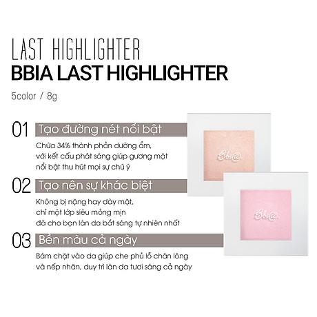 Phấn Bắt Sáng Bbia Last Highlighter 8g (5 màu) 7