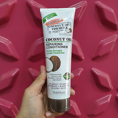 Dầu gội và dầu xã dưỡng ẩm, phục hồi và kích thích mọc tóc từ dừa Palmer s Coconut Oil Formula 7