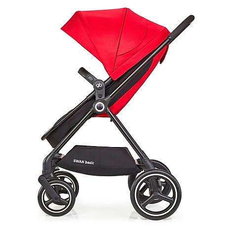Xe đẩy em bé GB Swan Basic - Đỏ 2