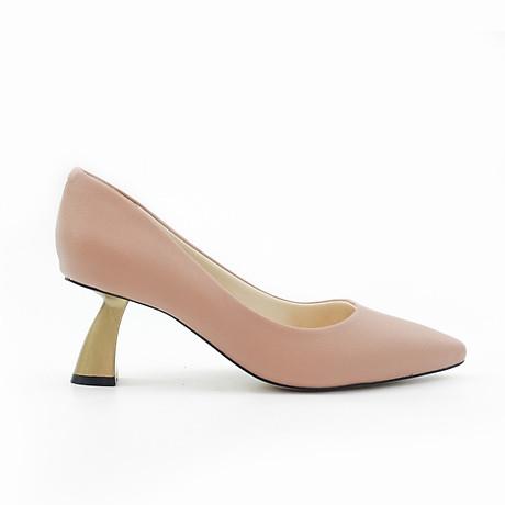 Giày Pixie Mũi Nhọn Gót Xéo 5P P340 5