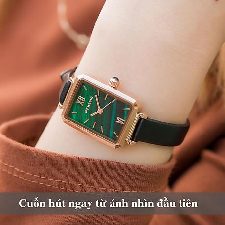 Đồng Hồ Nữ Thương Hiệu PAGINI PA6624G - Thiết Kế Mặt Vuông Độc Đáo - Hàng FullBox 4