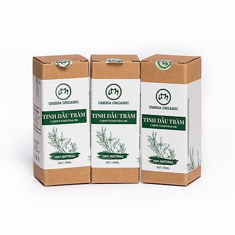 COMBO 3 HỘP TINH DẦU TRÀM HỮU CƠ U MINH HẠ nguyên chất dùng xông tắm ngừa cảm lạnh, trị côn trùng cắn đốt cho Bé, Trẻ sơ sinh và Trẻ nhỏ An toàn cho làn da nhạy cảm của Bé 7