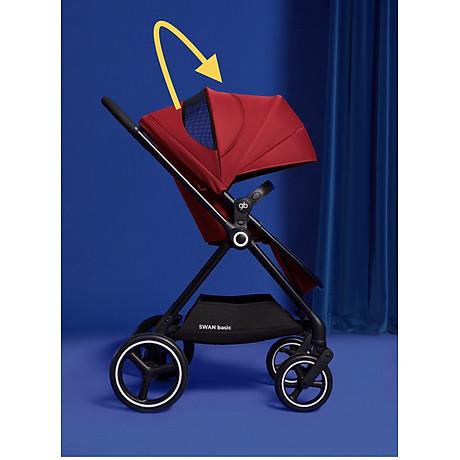 Xe đẩy em bé GB Swan Basic - Đỏ 8