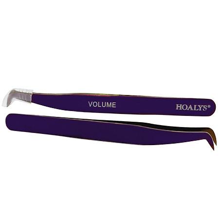 Nhíp Nối Mi Nhíp Volume Tím Hoalys TW05 - Nhíp chuyên dùng để nối mi Volume, Mega Volume phiên bản đặc biệt, dễ tạo fans 3D-12D 7