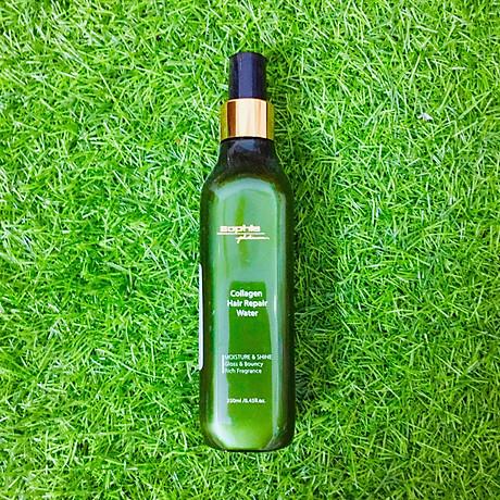 Xi t dươ ng to c siêu mượt Sophia Platinum Collagen Hair Repair Water 250ml 3