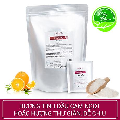 Muối tắm tinh dầu 100% thiên nhiên AZIAL Calming Bath Salts - Ngâm chân hoặc ngâm bồn 4