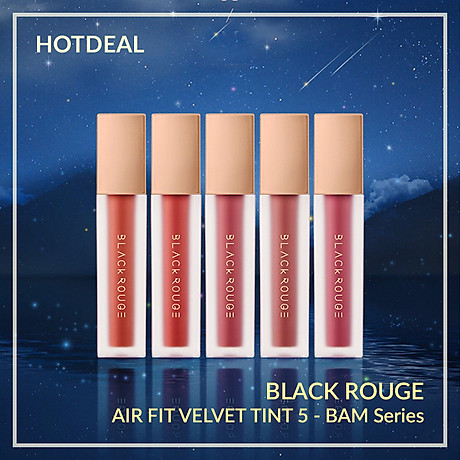 Son Kem Lì Black Rouge Air Fit Velvet Tint Ver 5 - Night Series 3