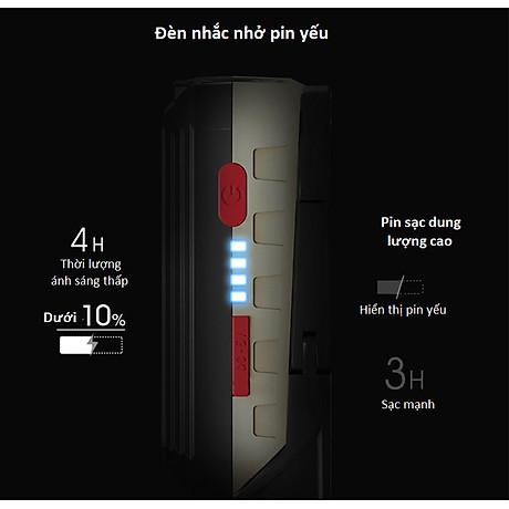 Đèn led cắm trại sạc điện W560COB (Tặng kèm miếng thép đa năng 11in1) 7