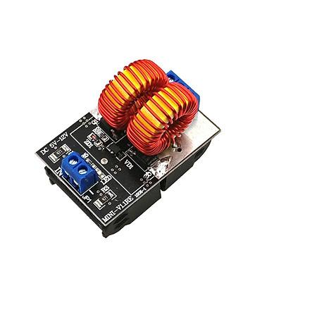 Mạch Nung Cao Tần ZVS Mini 120W 5V-12VDC ( tặng 02 kẹp nút dây điện) 2