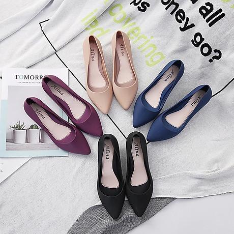 Giày Búp Bê Nữ Đế Bệt Nhựa Dẻo Êm Ái G01 7