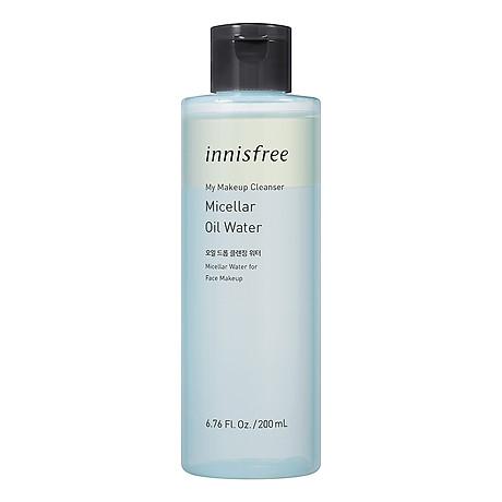 Nước Tẩy Trang Và Làm Sạch Da Innisfree My Makeup Cleanser Micellar Oil Water 200ml - 131171076 1