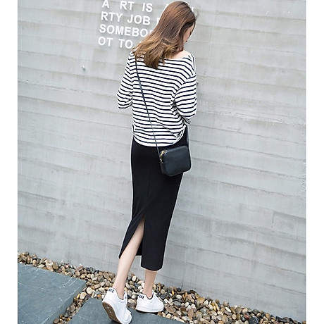 Chân váy bút chì dáng dài Haint Boutique Cv13 5