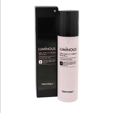 Kem Nền Cao Cấp CC Nâng Tông Tonymoly Luminous Pure Aura CC Cream 1