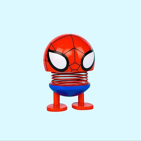 Set 6 thú nhún Emoji lò xo siêu anh hùng 2