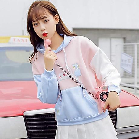 Áo hoodie nữ ABC 3