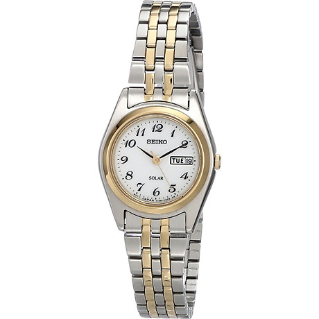 Seiko Women s SUT116 Stainless Steel Two-Tone Watch 1