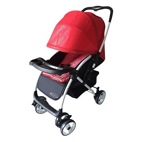 Xe Đẩy Trẻ Em Hai Chiều Gluck Baby C58- Đỏ 2