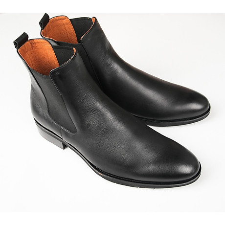 Giày chelsea boot VH48 đen 2