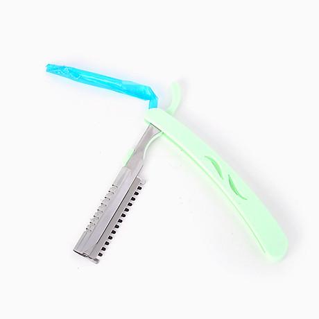 Bộ dao cạo lông mày mini gấp khúc 10 lưỡi dao phong cách Hàn Quốc - MN023 5