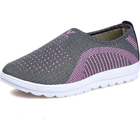 Giày lười nữ phong cách êm chân thoáng khí (full size full box) - chữ V - Size 36 đến 40 - V124 6
