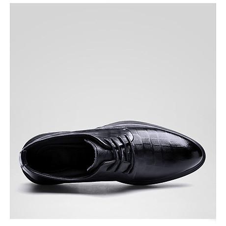 Giày da giày da nam cao cấp độn đế giày tăng chiều cao mã 36800-G đế cao 6cm 8