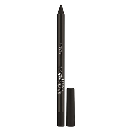 Chì Mắt 2in1 Deborah Gel Kajal & Eyeliner Waterproof 01 1