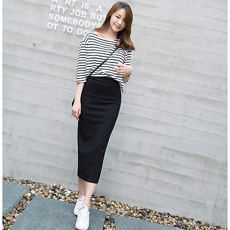 Chân váy bút chì dáng dài Haint Boutique Cv13 4